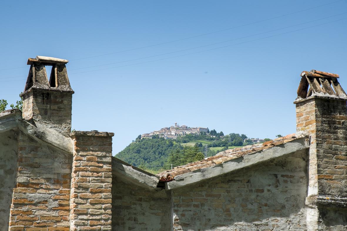 View on Monte San Martino
